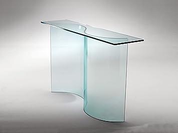 Mod. Esse consolle in vetro curvo: Amazon.it: Casa e cucina
