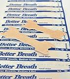 200 Stück Better Breath Nasenpflaster besser atmen nasal strips hautfarben Größe L reduziert Schnarchgeräusche einfache Anwendung