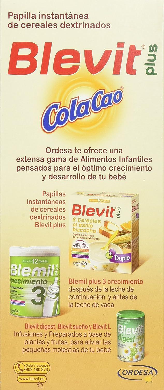 BLEVIT Plus ColaCao - 600 gr: Amazon.es: Amazon Pantry