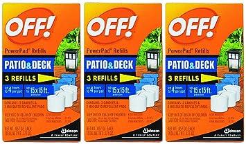 Marvelous OFF! Lamp / Lantern Powerpad Refills   Patio U0026 Deck Mosquito Repellent   3  Refills
