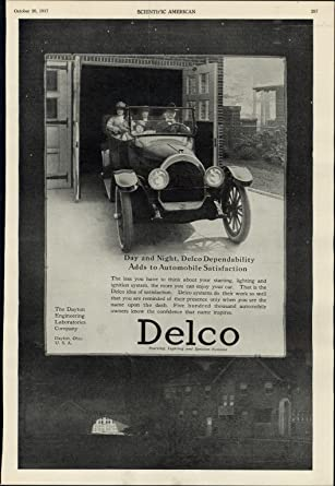 Amazon Delco Early Auto Car Systems 1917 Vintage WWI
