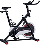 Body Sculpture Unisex the Pro Racing Speed Bike, Black/White/Red