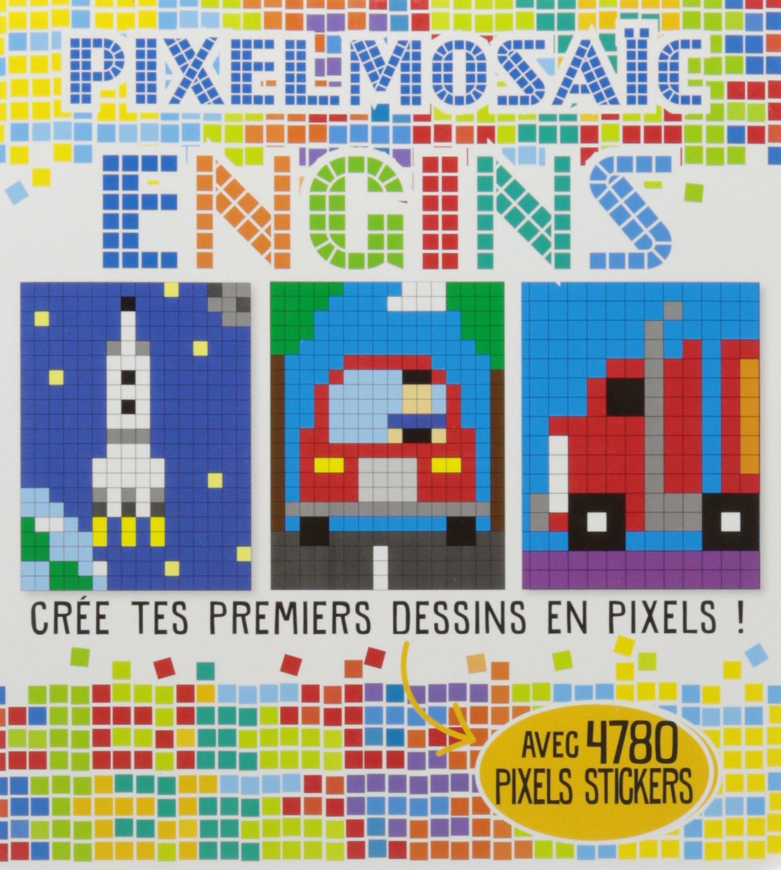 Engins Crée Tes Premiers Dessins En Pixels Elizabeth