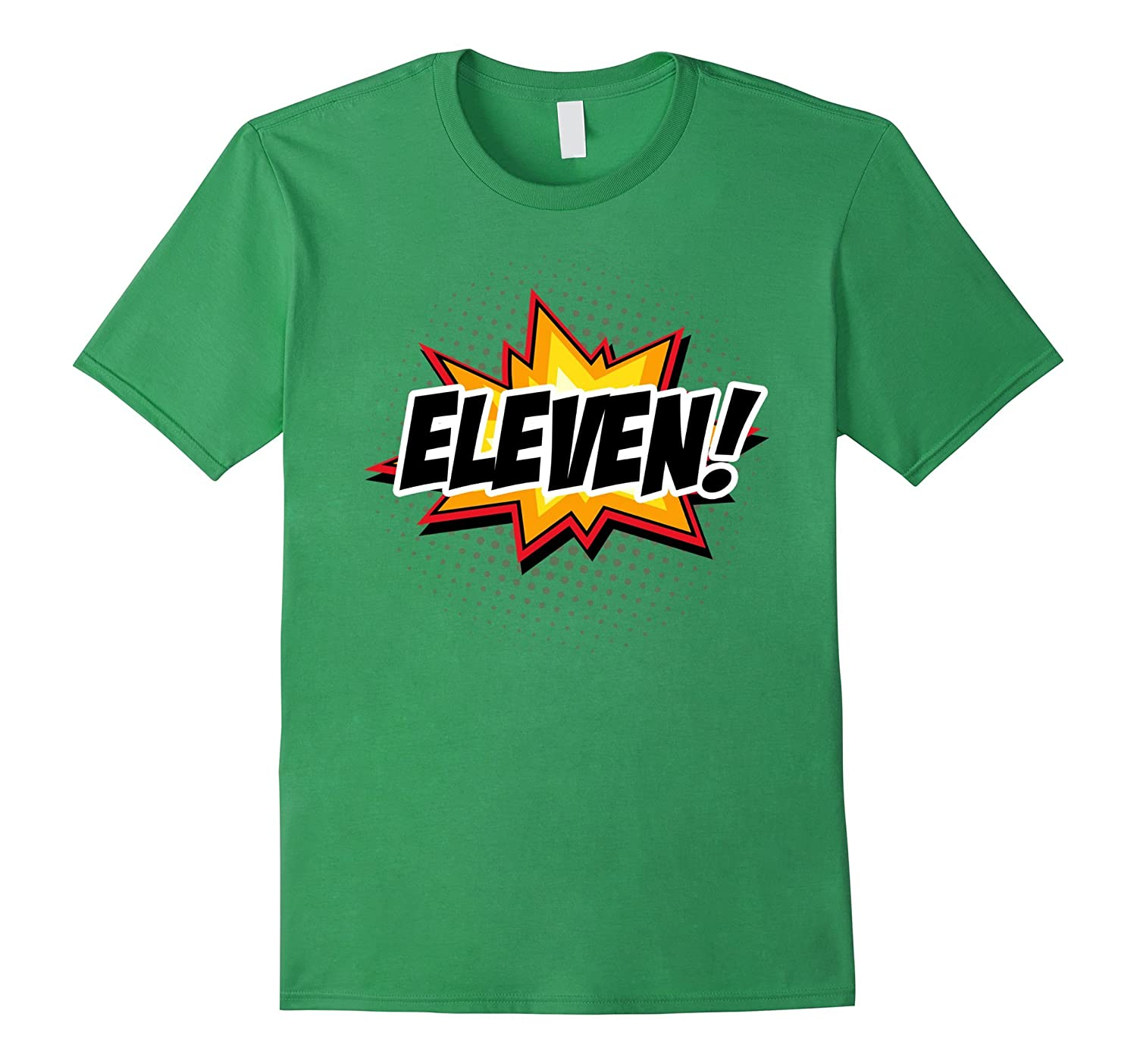 b7d0dbf6 SuperHero Birthday Shirt 11 Year Old Boys and Girls ALL AGES-TH ...