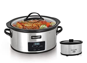 Crock-Pot® 6 Qt. Programmable Slow Cooker with Little Dipper® Warmer