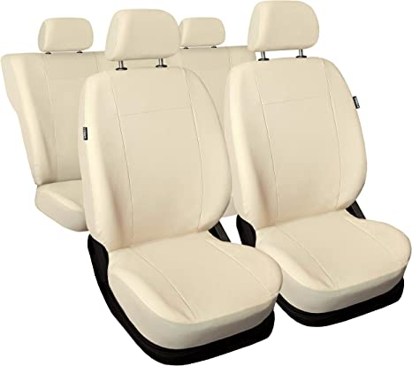 Citroen C3 Beige Universal Sitzbezüge Sitzbezug Auto Schonbezüge MODERN