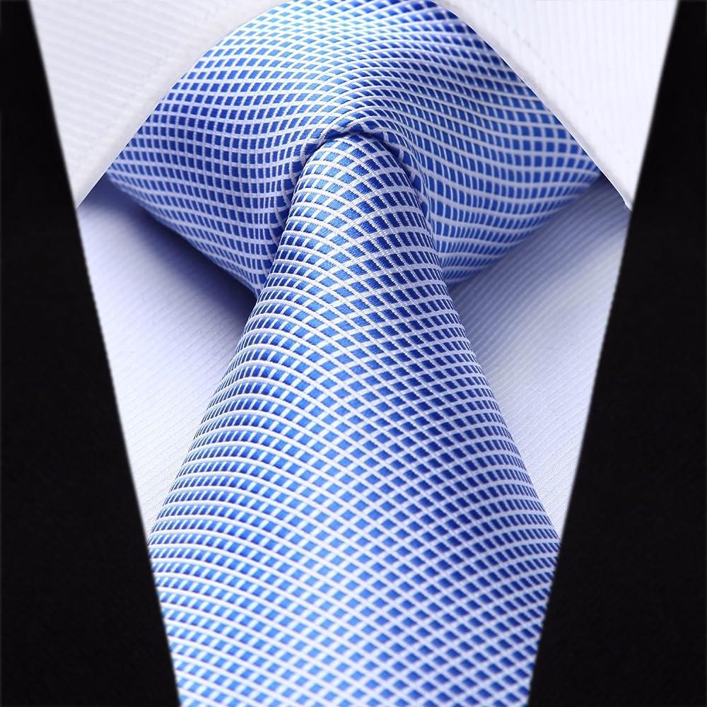 BIYINI Juego de corbata y panuelo de bolsillo de fiesta de boda ...