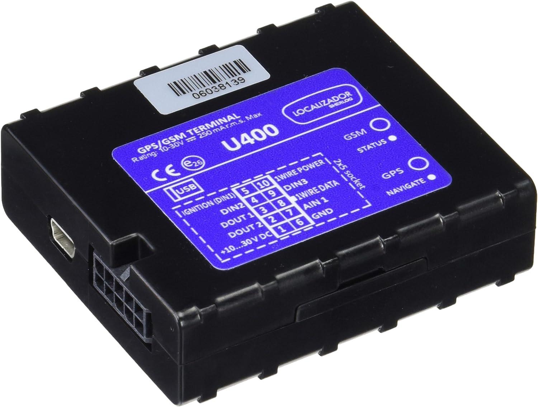 Sherlog LOC-400 - Localizador para vehículos, Color Negro