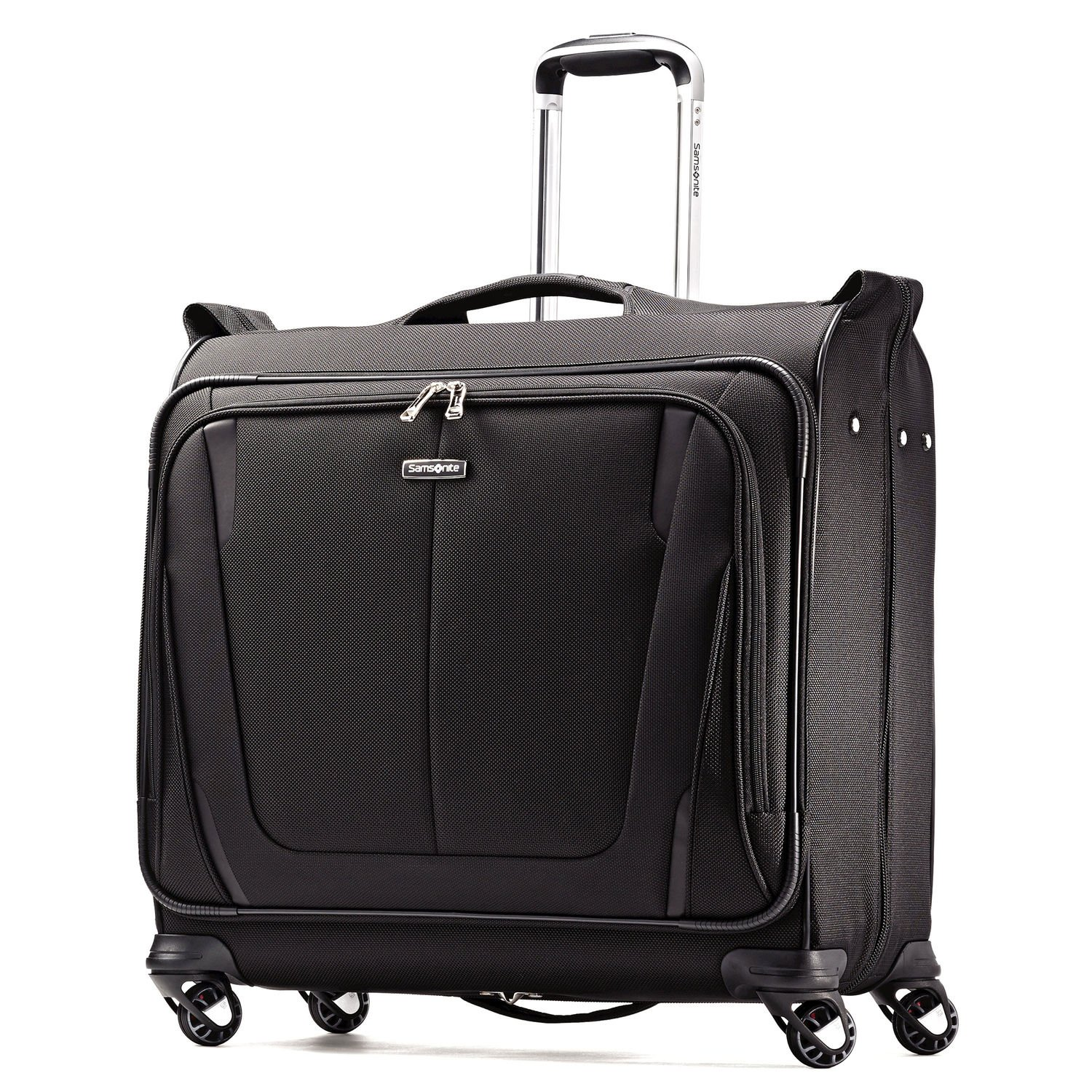 Samsonite Silhouette Sphere 2 Softside Deluxe Voyager Garment Bag, Black, 22 Inch