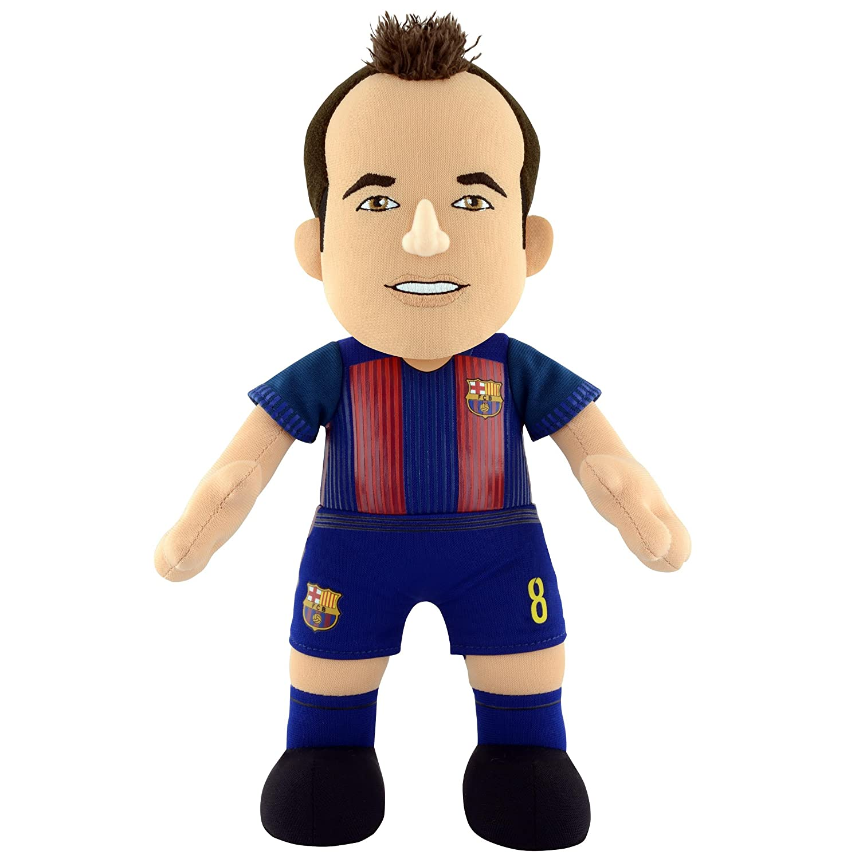 Bleacher Creatures Europe FIFA FC Barcelona Andres Iniesta cifra de Felpa, 10 EPLUFCP10FCBAIN2