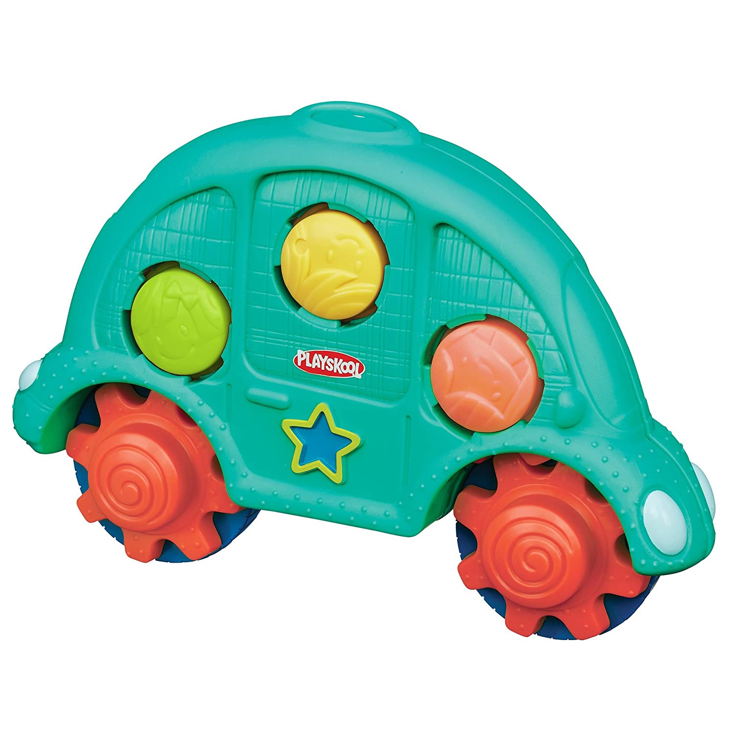 Amazon Playskool Roll n Gears Car Toys & Games