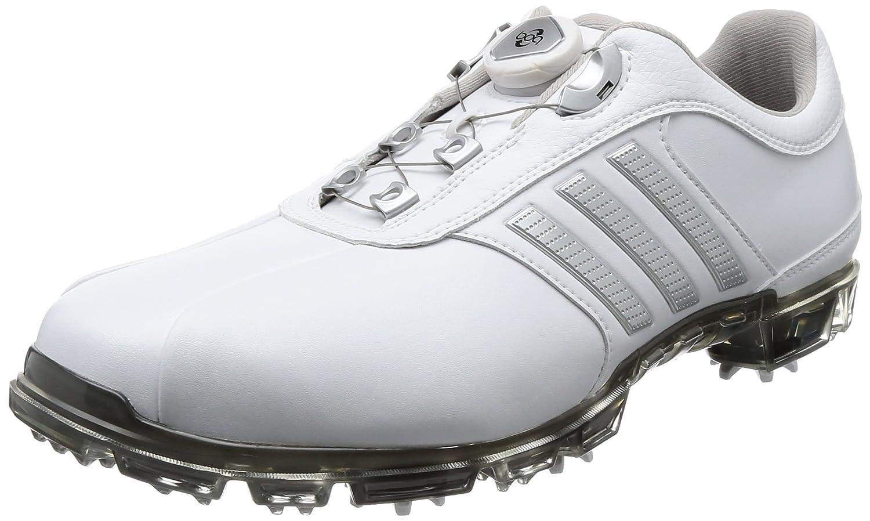 [アディダスゴルフ] ゴルフシューズ ピュアメタル ボア プラス pure metal Boa PLUS B0734HDHBN 27.0 cm 3E ホワイト/シルバーメタリック/ダークシルバーメタリック