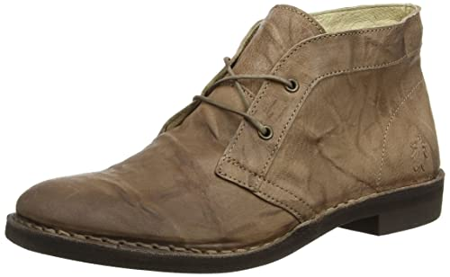Czar933Fly, Botas Desert para Mujer, Beige (Taupe 003), 38 EU FLY London