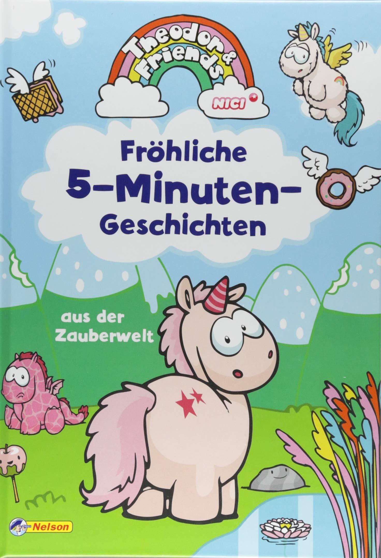 Theodor and Friends: Theodor and Friends: Fröhliche 5-Minuten-Geschichten aus der Zauberwelt: Zum Vor- und Selberlesen