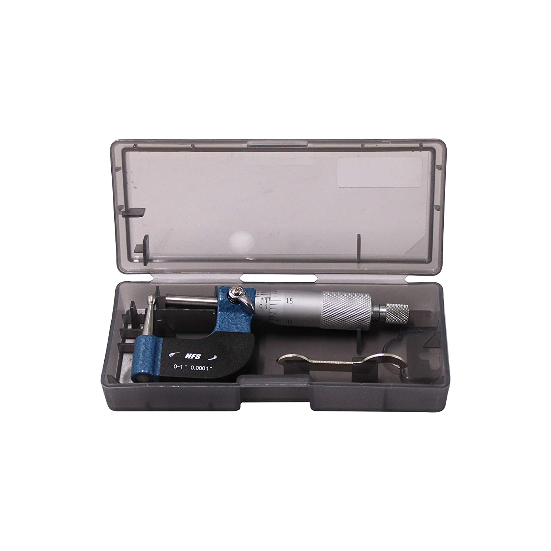 Tube Micrometer Reloading Ball Spherical Anvil Case Thickness 0-1//0.0001 HFS R