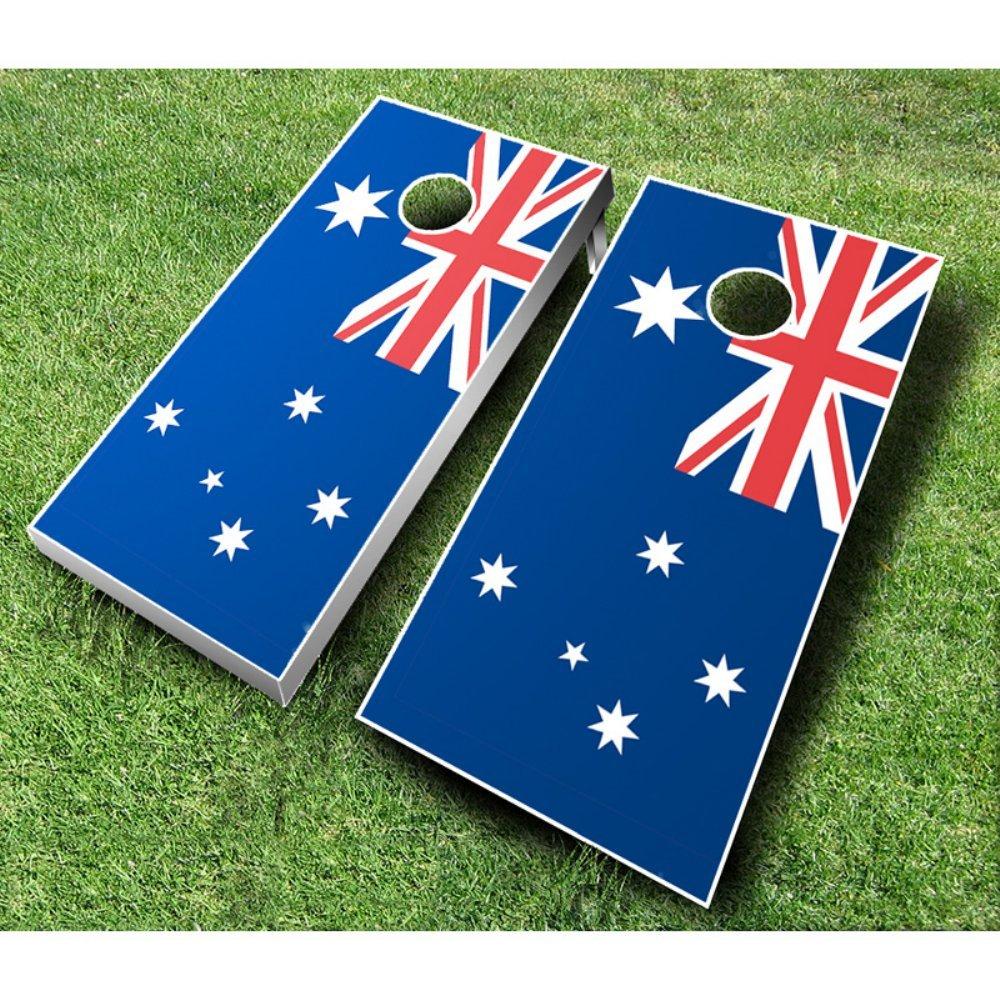 オーストラリアフラグCornhole Set withバッグ B00INL6QU6 Bags Red 1/ Royal Set Blue Bags 1, 優美-party accessory&bag-:6b294bd6 --- sharoshka.org