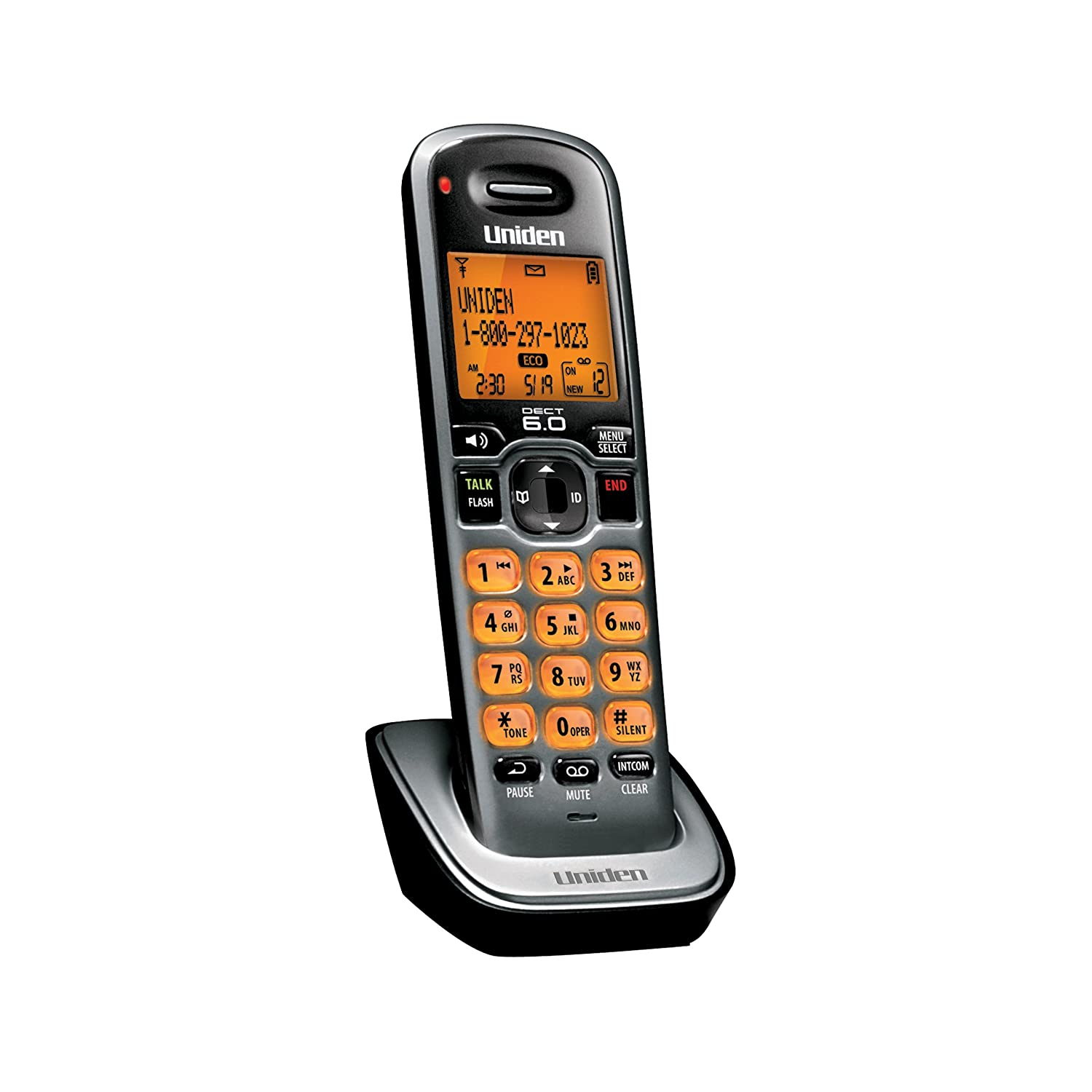 Amazon.com: Uniden D1680-4 Cordless Phone/Answering System with 4 Handsets:  Electronics