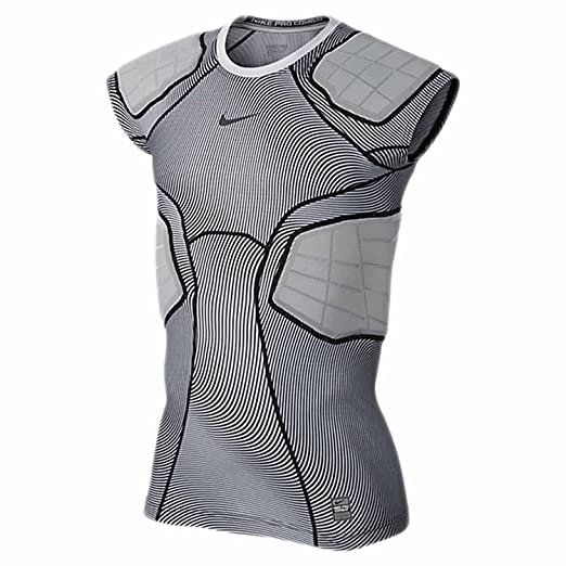 9fcf6f34 NIKE Men's Pro Hyperstrong 4 Pad Football Top at Amazon Men's ...