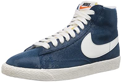 check out dc146 3fef3 Nike Blazer Mid Suede Vintage, Women s Hi-Top Sneakers, Black (Black