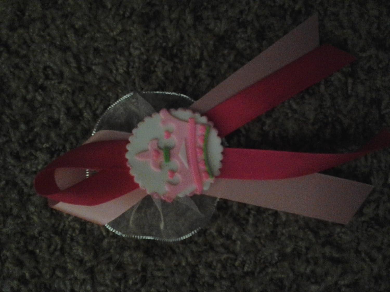 Amazon.com: 12 Cold Porcelain Princess Crown Mini Charm ...