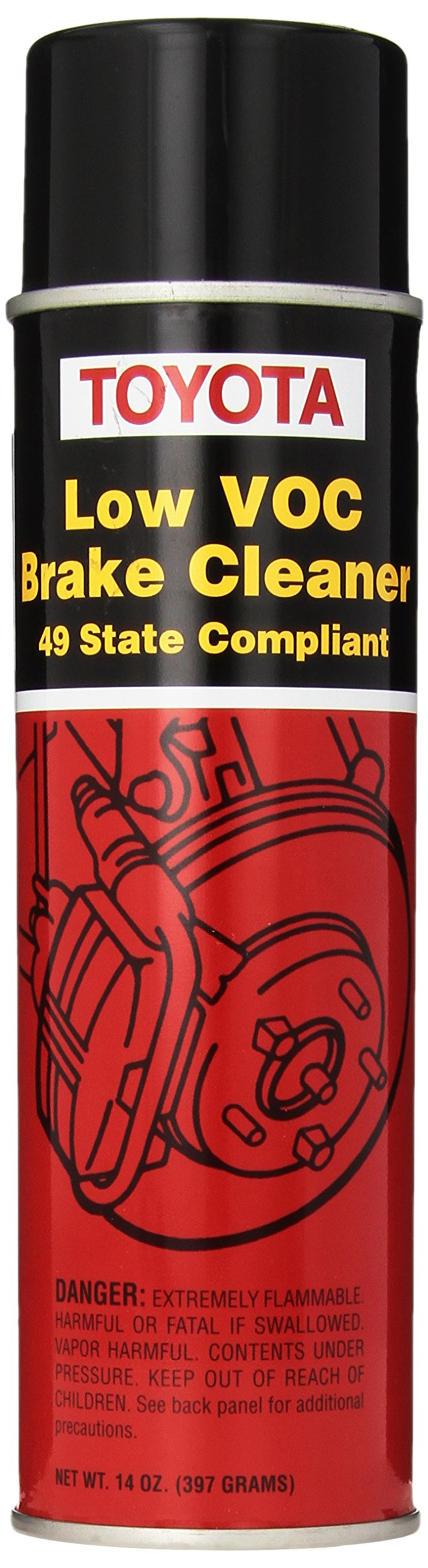 Genuine Toyota Fluid 00289-2BC00 Non-Chlorinated Brake Cleaner - 14 oz. Can