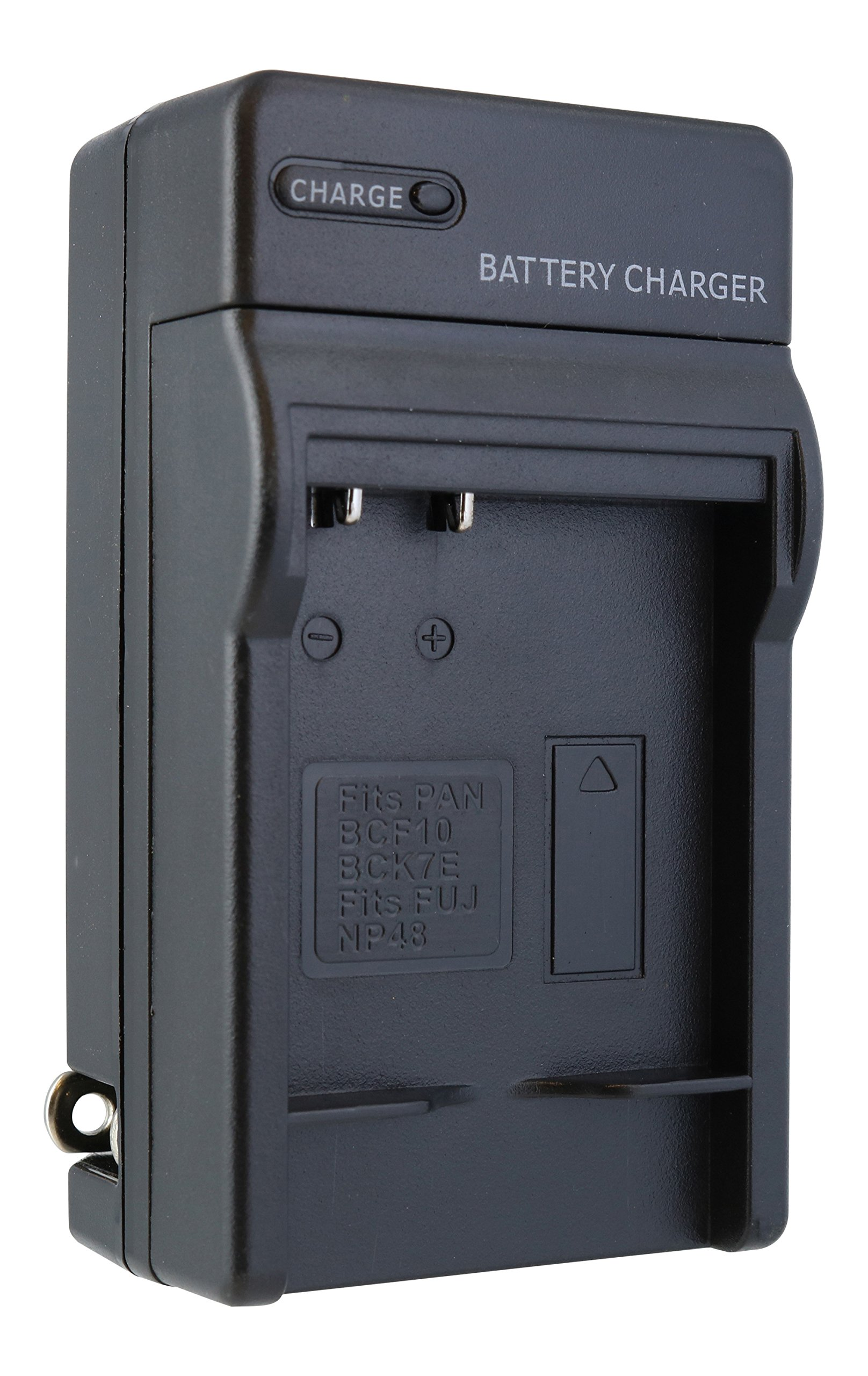 TechFuel Battery Charger Kit for Panasonic Lumix DMC-FP8 Camera - For Home, Car and Travel Use