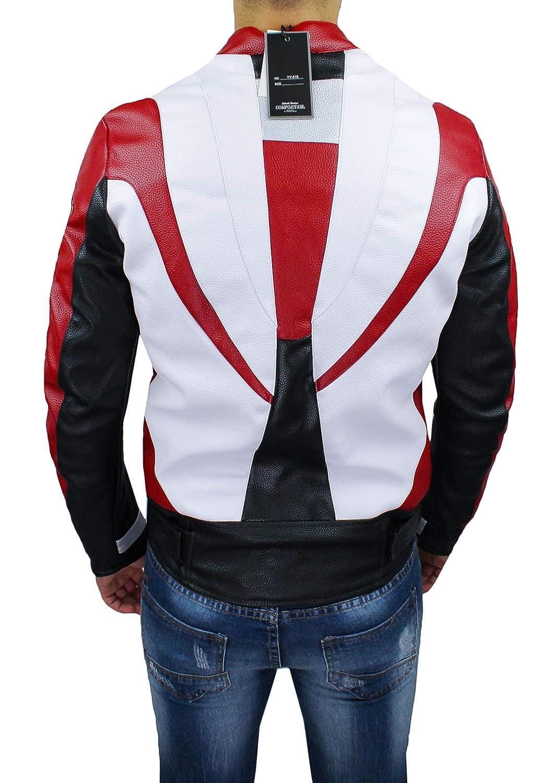 Devil - Chaqueta de Moto para Hombre Tecnica ManS Jacket de ...