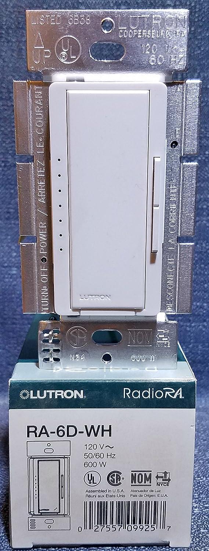 Lutron Electronics RA-6D-WH RA-6D-WHdioRA-6D-WH Incandescent - Night Lights - Amazon.com