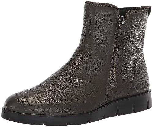 e9ce4b3a36fd4c ECCO Shoes Women s Bella Double Zip Ankle Boot Black  Amazon.ca ...