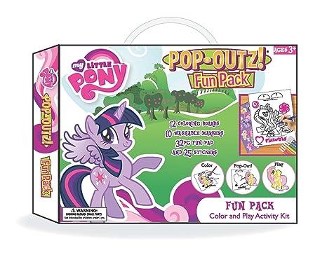 Hasbro Paquete Divertido de My Little Pony, 11 por 1 1/2 por 8 Pulgadas: Amazon.es: Juguetes y juegos
