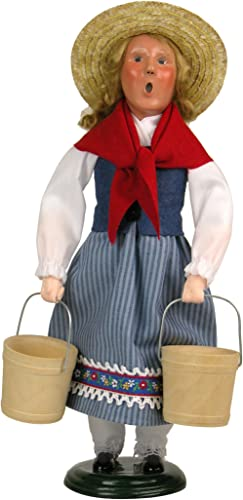 Byers Choice 8 Maids A-Milking Caroler Figurine 738 from The 12 Days of Christmas Collection