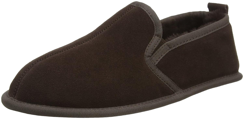 4205fb07c8e SNUGRUGS Men s Suede Sole Sheepskin Slipper  Amazon.co.uk  Shoes   Bags