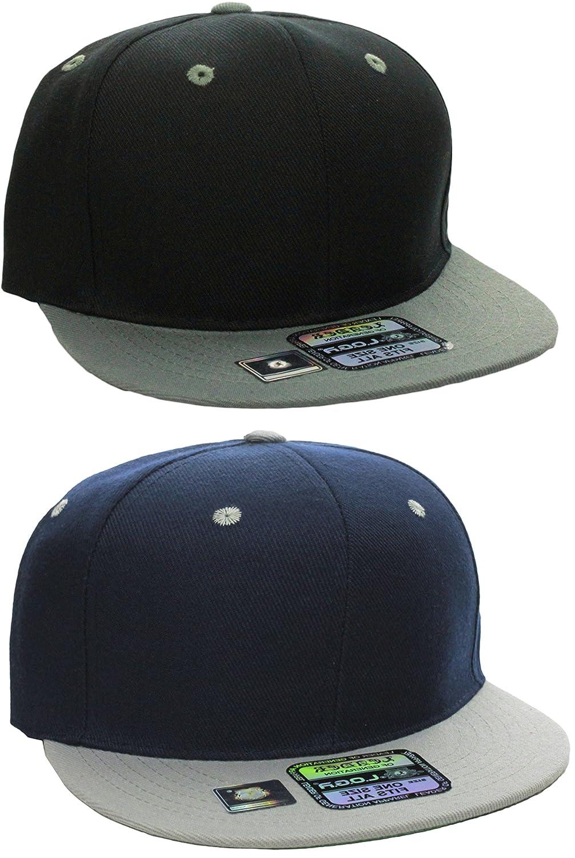 64dc14359308b L.O.G.A Plain Flat Bill Visor Blank Snapback Hat Cap with Adjustable ...