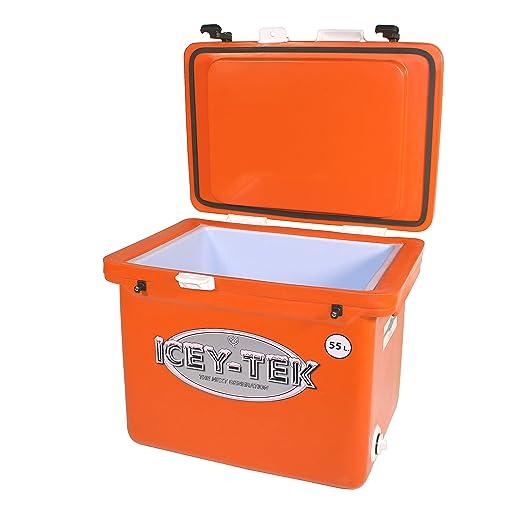 Icey-Tek - Nevera portátil (55 litros): Amazon.es: Jardín