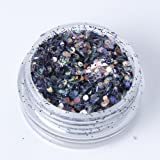 Mixed Chunky Face Eye Body Glitter Festival Clubbing Dance (Smoke)