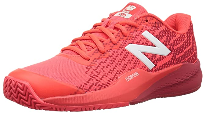 Amazon.com | New Balance Mens 996v3 Clay Clay Court Tennis Shoe, Flame, 7.5 2E US | Tennis & Racquet Sports