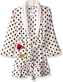 baf006ab26 Betsey Johnson Women s Glamour Printed Faux Fur Robe