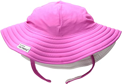 cb0fbc856d2 Flap Happy Toddler Girls' UPF 50+ Summer Splash Swim Hat, Kohala, X ...