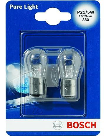 Bosch 1987301016 Pure Light - Bombilla P21/5W (para luz de freno, intermitentes