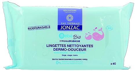 Agua HPT Jonzac toallitas limpiadoras dermo-douceur