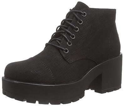 Vagabond Women s Dioon Cold Lined Classic Boots Short Length Black Size  3.5 b53e0b4055