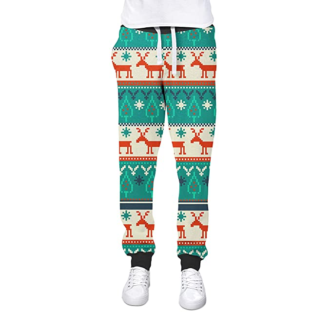 aadce57b0ba05 Queen of Cases Ugly Christmas Sweater Cuffed Joggers Sweatpants ...