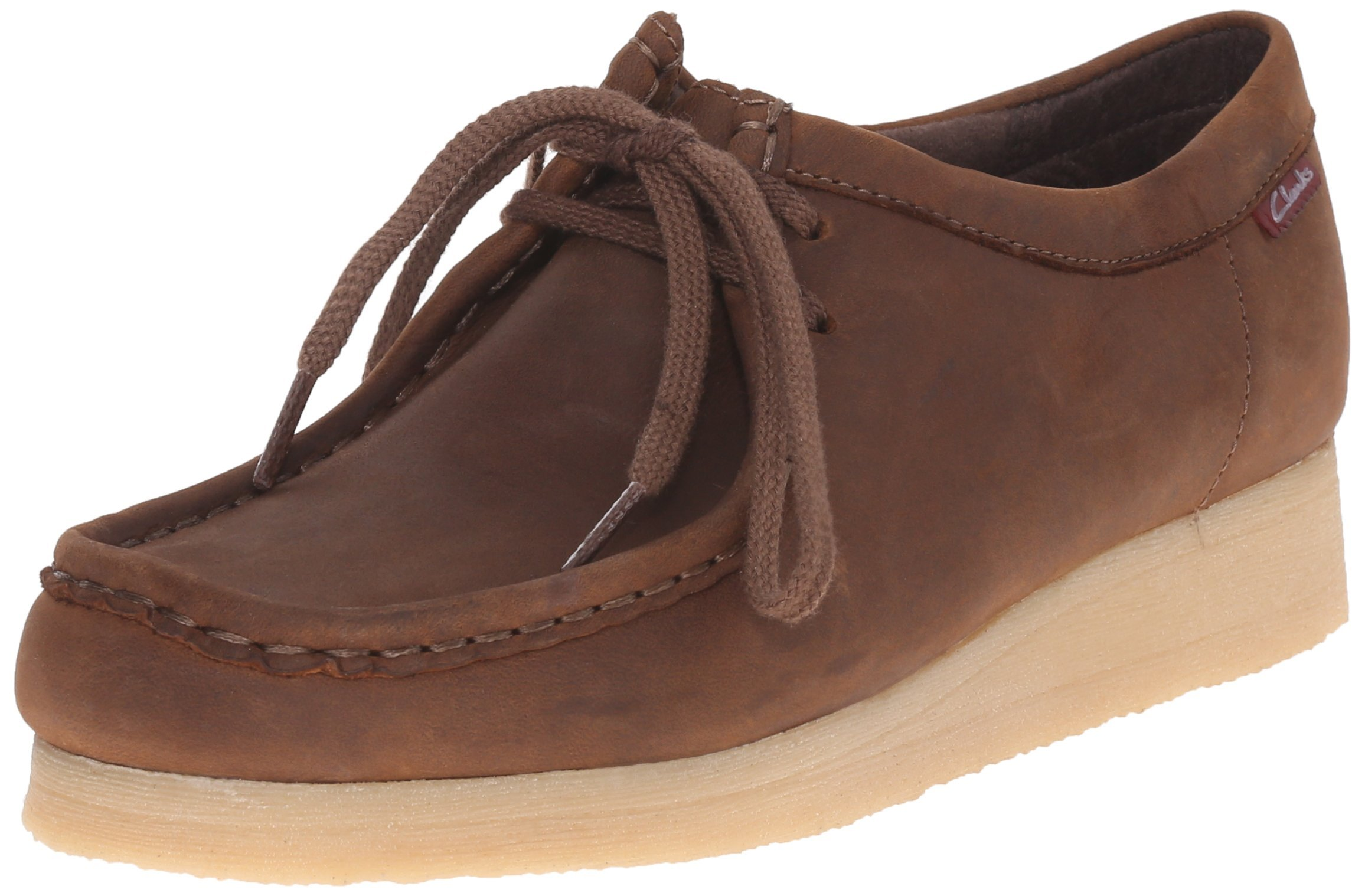 CLARKS Women's Padmora Oxford, Brown Smooth, 7.5 M US