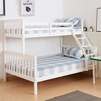 Marko Furniture Solid Pine Wooden Bed Frames Single Double King Bunk