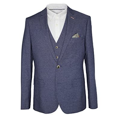 5dde95cd9042 HARRY BROWN Dandy Slim Fit Mix and Match Suit in Blue 38 to 50 ...