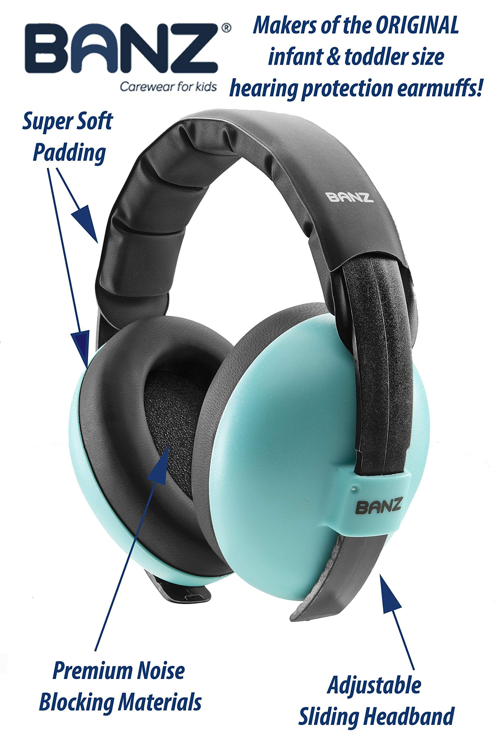 Baby Banz Earmuffs and Infant Hearing Protection and Sunglasses Combo 0-2 Years by BANZ (Image #3)