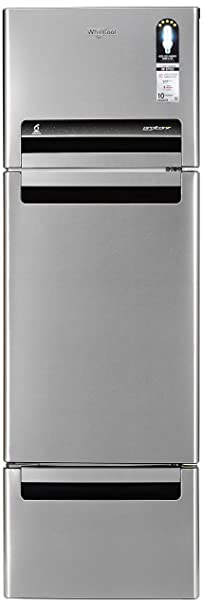 Whirlpool 260 L Frost Free Multi Door Refrigerator FP 283D PROTTON ROY ALPHA STEEL  N , Alpha Steel  Refrigerators