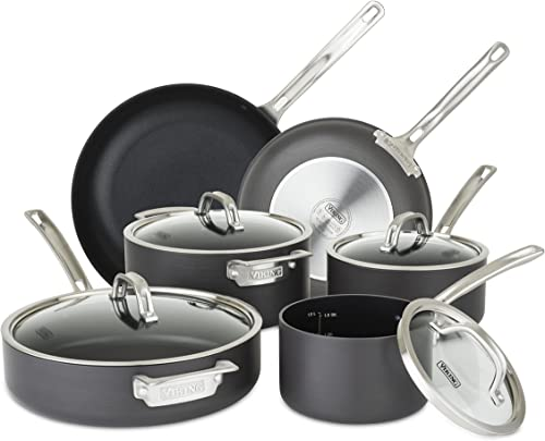Viking Culinary Hard-Anodized Nonstick Cookware Set