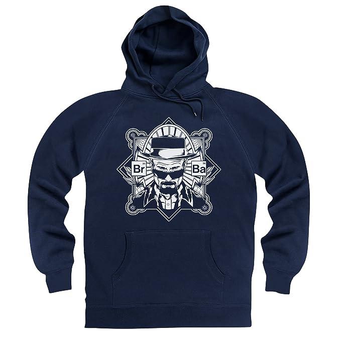 Official Breaking Bad - Obey Sudadera con capucha, Para hombre, Azul marino, XL: Amazon.es: Ropa y accesorios