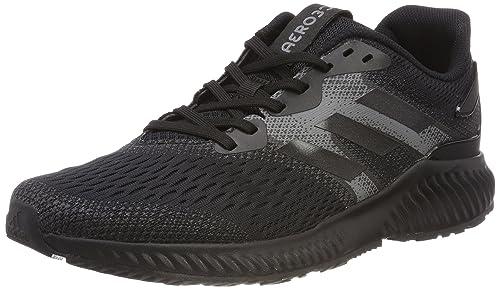 Adidas Aerobounce W, Zapatillas de Entrenamiento para Mujer, Negro (Core Black/Core Black/Grey Four 0), 40 EU